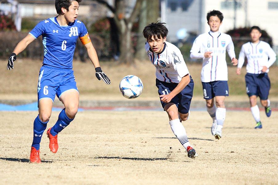 高校時代の中島翔哉にそっくりな、横浜FCユース斉藤光毅という逸材。<Number Web> photograph by Takahito Ando
