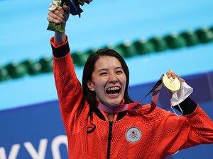 """競泳・大橋悠依が""""40人中40位""""の日本選手権を越えて金メダリストになるまで 「それが自分が水泳をやっているすべて」"""