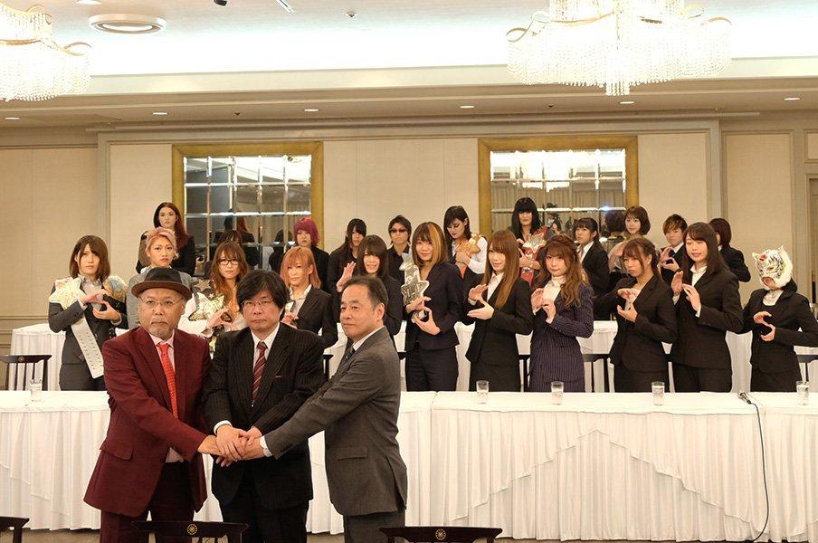 ブシロードがスターダム買収。男女共存と国際プロの記憶。~プロレス界に吹く変化の風~<Number Web> photograph by Norihiro Hashimoto