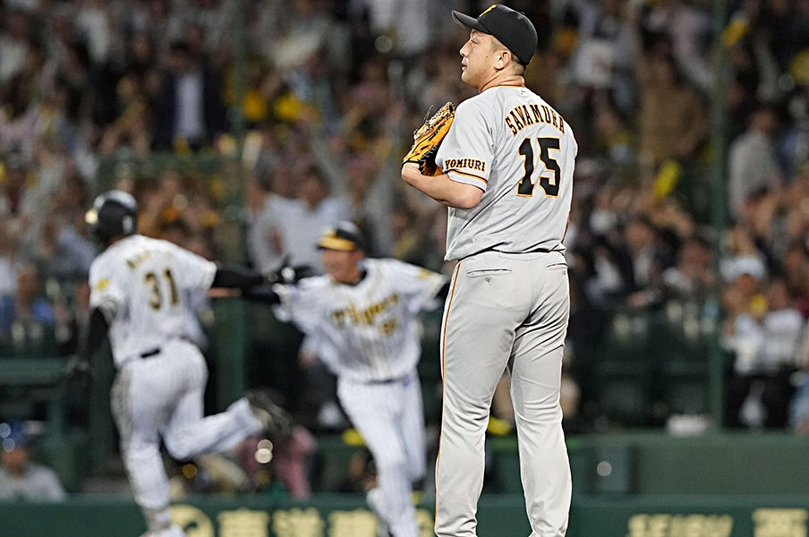 「マシソンは巨人魂を持っている」不調リリーフ陣に今、必要な男。<Number Web> photograph by Kyodo News