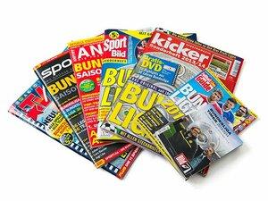 ブンデスリーガ選手名鑑、熾烈なる市場戦線に迫る。~媒体の競争が生む、充実の誌面~