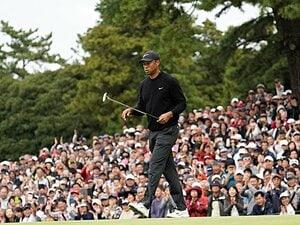 百戦錬磨ウッズのダーツ・ゴルフ。「出だしはアグリー、今はいい感じ」
