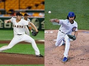 """菅野智之とパのエース、ダルは?MLBが気遣う""""投手酷使指数""""比較。"""