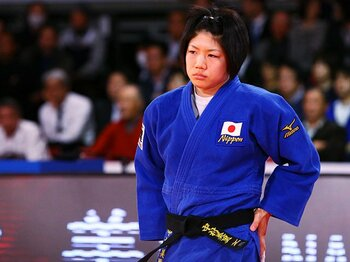 中村美里は唯一、同年の世界選手権とグランドスラム東京を2度制している。