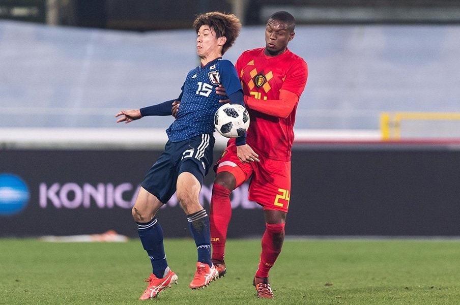 引いて守るなら、カウンターが必要。日本の攻め手を消したベルギーの策。<Number Web> photograph by Getty Images
