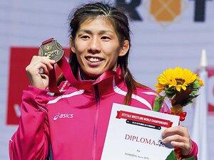 吉田沙保里を奮起させた、東京五輪とレスリング存続。~7年後への一歩、世界大会14連覇~