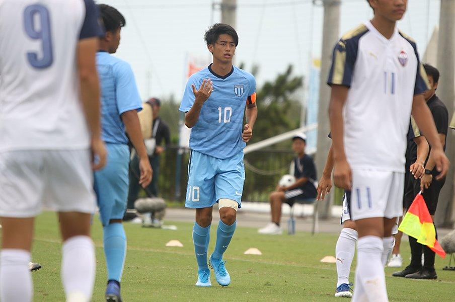 昨年準V、U-20W杯の悔しさを糧に。西川潤が夏を制して逞しくなった。<Number Web> photograph by Takahito Ando