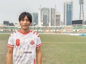"""なぜバングラデシュに? 35歳日本人がサッカークラブ""""市民兵""""の主将として必死にスポンサー集めをする理由"""