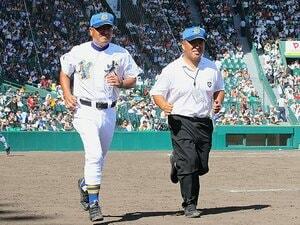 """斎藤監督と横山部長の名タッグ。聖光学院を前進させる""""2人の監督""""。"""