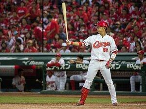 """""""天才""""西川龍馬が侍Jになった理由。東京五輪、三塁手争い、広島の期待。"""