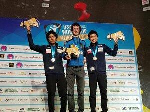 楢崎智亜の五輪金メダルに待った? チェコの天才クライマーが復活参戦。