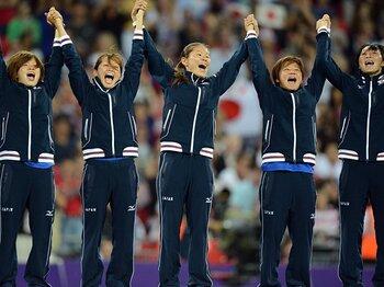 アメリカに敗戦、選手はどう考えた?笑顔で終わった、なでしこの五輪。<Number Web> photograph by Kaoru Watanabe/JMPA