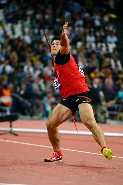 ディーン元気の豪快なやり投げフォーム。~ロンドン五輪2012~