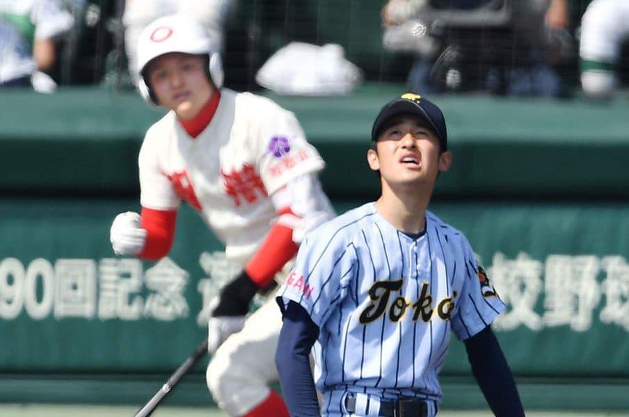 ベンチに反し「打っちゃいました」。智辯和歌山を後押しした勢いの正体。<Number Web> photograph by Kyodo News