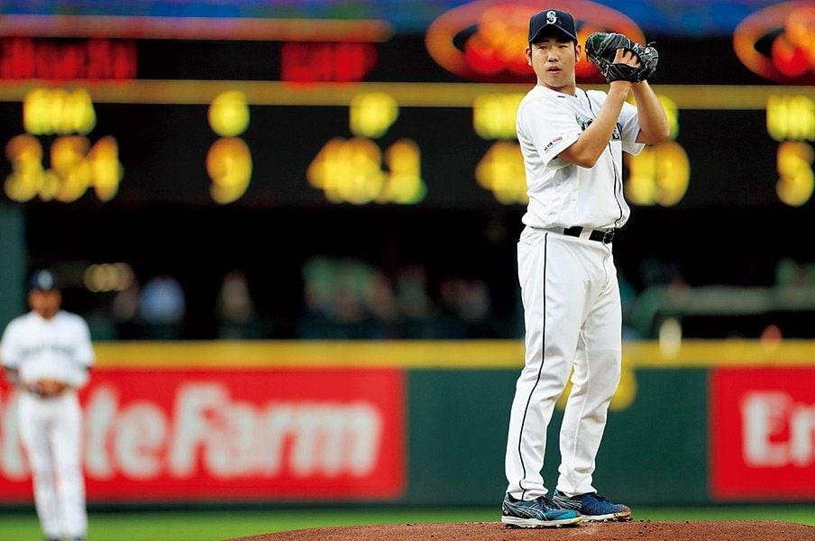 「苦い経験を必ずプラスに」菊池雄星を支える前向きな姿勢。~大谷に浴びた本塁打も経験に~<Number Web> photograph by Yukihito Taguchi
