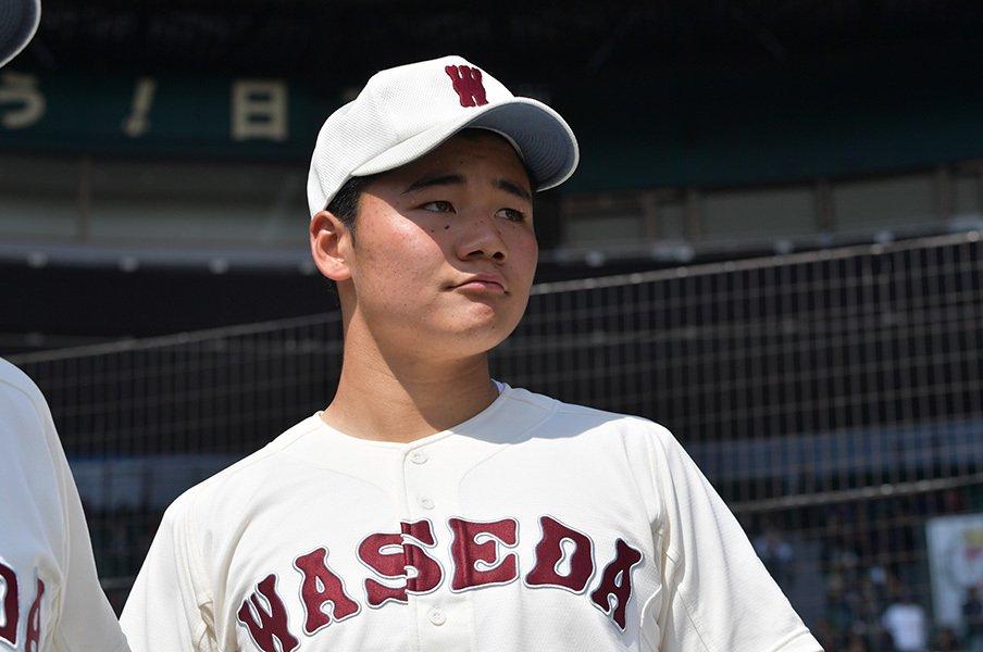 清宮幸太郎は早大進学より即プロへ!東大相手に本塁打を量産しても……。<Number Web> photograph by Hideki Sugiyama