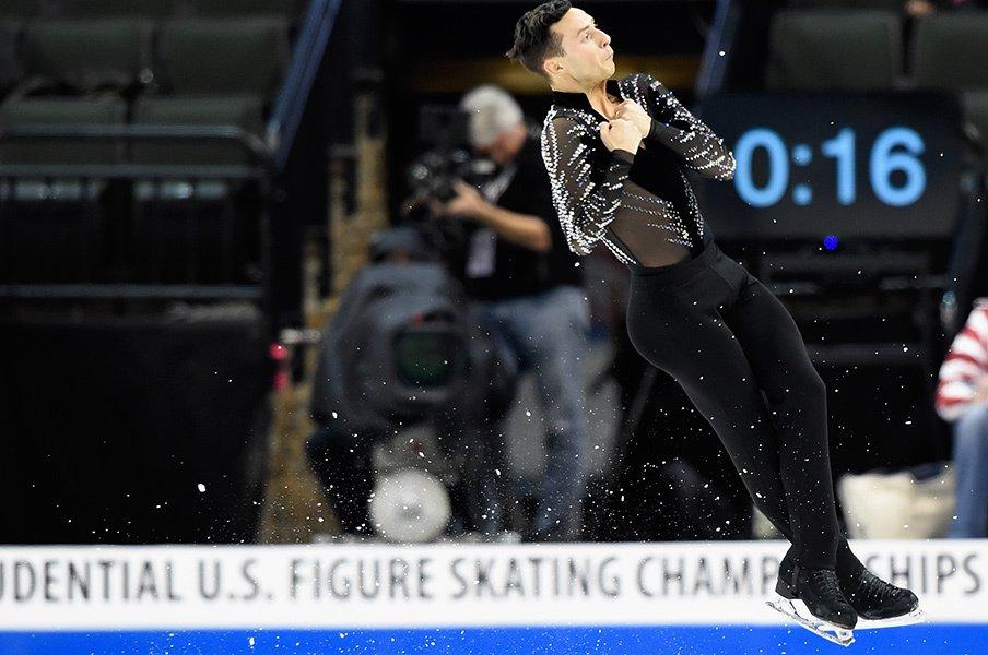 前米国王者ブラウンが代表漏れ!?世界選手権に影響する羽生の存在。<Number Web> photograph by Getty Images