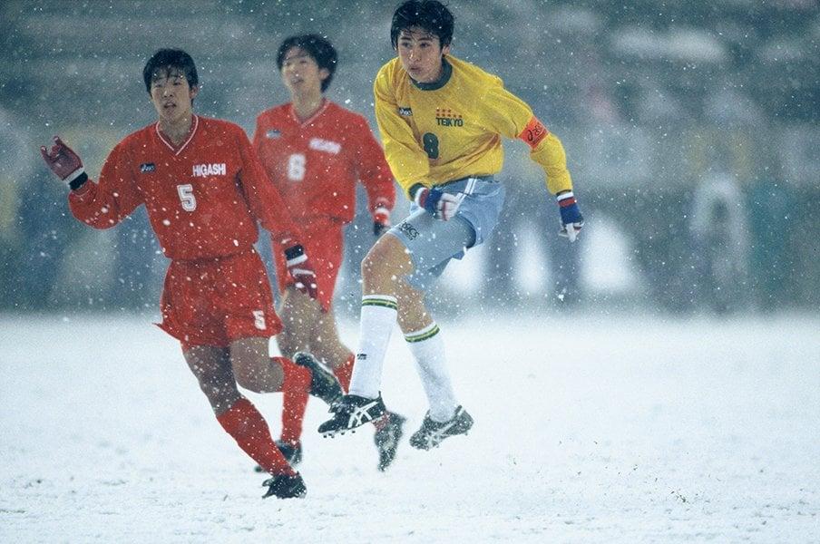 <証言ドキュメント>東福岡×帝京「雪の決勝、伝説の真実」<Number Web> photograph by Kazuaki Nishiyama