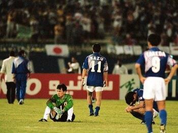 """よく考えると不思議?得失点差という制度の盲点。~""""ドーハの歓喜""""だった可能性!?~<Number Web> photograph by Koji Asakura"""
