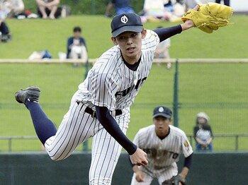 """佐々木朗希の「160キロ」を見た。""""大谷流""""を擁する花巻東にも期待。<Number Web> photograph by Kyodo News"""