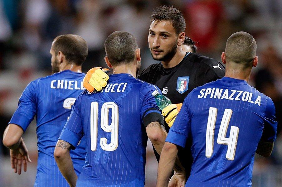 高校生のA代表GKドンナルンマも!U-21イタリアの本気すぎる陣容。<Number Web> photograph by AFLO