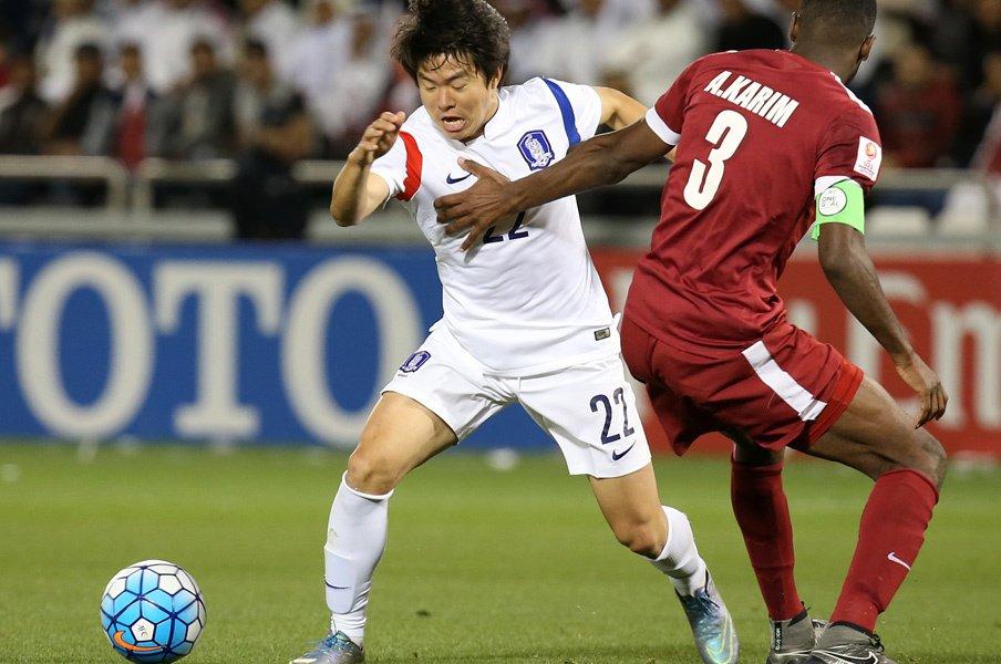 水原所属のクォン・チャンフンがこの世代のエース。中盤に中心選手がいるのも日本との共通点だ。