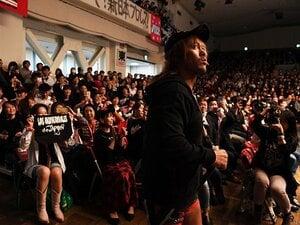 内藤哲也が新日本プロレスを痛烈批判。2年連続大賞男が挑む1.4東京ドーム。