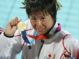 柴田亜衣は、自己ベストのために泳いでいる。