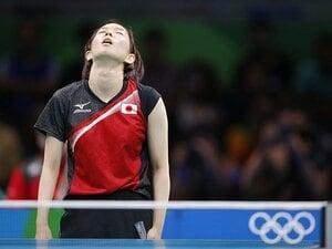 怪我の影響を頑なに否定した理由。石川佳純は、同情より「次」を選んだ。