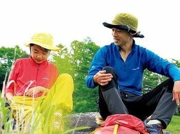 服部文祥 「サバイバル登山家の非サバイバル親子登山」<Number Web> photograph by Takashi Iga