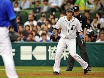 浅村栄斗、打点王の先に見据える物。叱責が「レオの天才肌」を強くした。<Number Web> photograph by Hideki Sugiyama