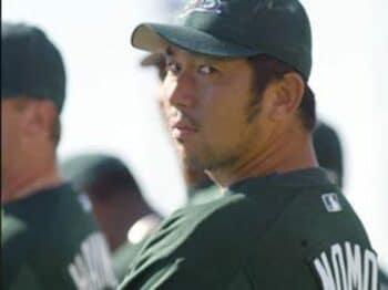 野茂英雄が見せる先駆者の矜持<Number Web> photograph by Yasushi Kikuchi