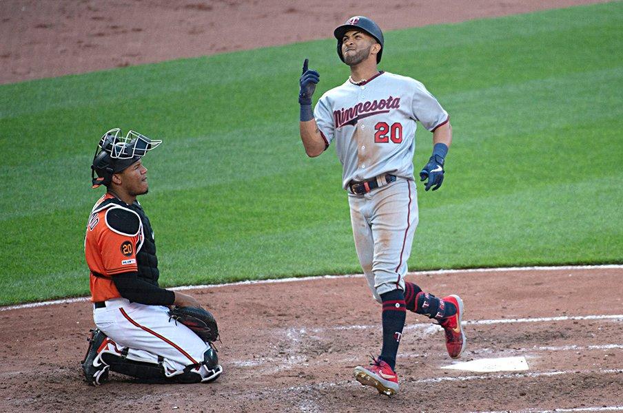 ツインズの本塁打量産。~本塁打王の本数は実は横ばい~<Number Web> photograph by AFLO