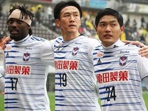 ビジャとそっくりな今季初ゴール。新潟・矢野貴章のイメージが熟成中。