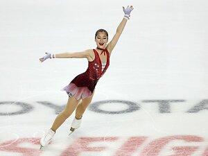 """""""少女から大人""""へ 15歳アリサ・リュウがフィギュア全米選手権で見せた変化…演技も容貌も"""