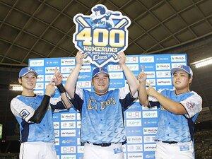 中村剛也は特異な大スラッガー。他の400本塁打達成者よりも凄い!?