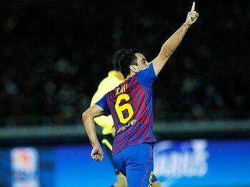 <我がバルサが目指すもの> シャビ・エルナンデス 「相手を絶望させるサッカーを」<Number Web> photograph by Daisuke Nakashima