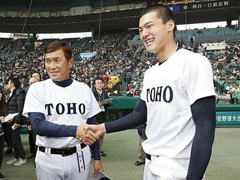 2019年ドラフトの上位12人・後編。野手では東邦・石川昂弥が最有力?<Number Web> photograph by Kyodo News