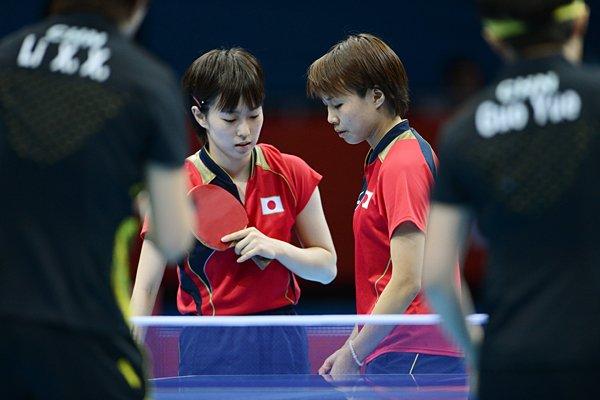 中国ペアから、意地の1セット奪取。~ロンドン五輪2012~