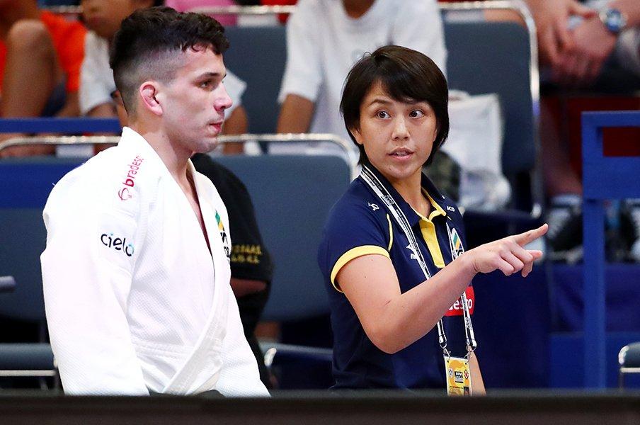 ブラジル柔道男子代表が日本人女性・藤井裕子を監督に据えた真相 「パラダイムを壊してほしい、と伝えた」《東京五輪》
