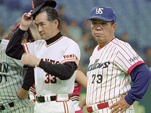 90年代、長嶋巨人vs.野村ヤクルト。死闘の歴史──死球、報復、乱闘も。
