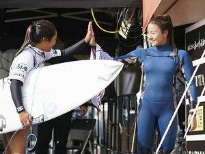 18歳の女子高生サーファー・松田詩野は成長中! 輝く笑顔の波乗り娘が進むオリンピックに続く道