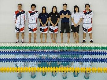 <競泳育成の新スタイル> 平井伯昌コーチと東洋大水泳部、常識への挑戦<Number Web> photograph by Takao Fujita