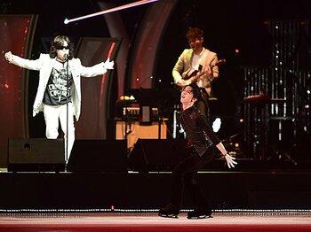 羽生結弦がアイスショーで見せた、精一杯の感謝と確かな回復の証。<Number Web> photograph by Asami Enomoto