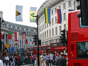 テロ、エコ、ニートのロンドン五輪。開幕後に、街の雰囲気はどう変わる?<Number Web> photograph by Takaomi Matsubara