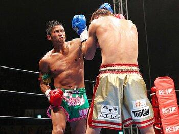 """新生K-1が65kgトーナメントを開催。見事に受け継がれた伝統と""""らしさ""""。<Number Web> photograph by Susumu Nagao"""