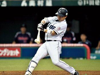 球宴ファン投票で最多得票の19歳。西武・森友哉のフルスイング理論。<Number Web> photograph by Hideki Sugiyama