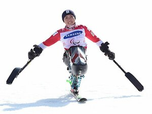村岡桃佳、開花のパラリンピック。ソチで発した「練習したいです」。