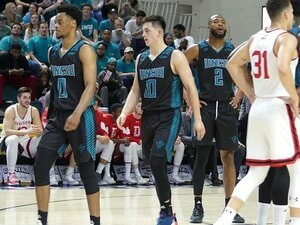 米大学でプレーするテーブス海。「NBAが自分の視野に入ってきた」