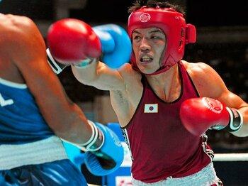 村田諒太の快挙で高まる五輪メダル獲得の期待。~アマチュアボクシング界の星~<Number Web> photograph by AFLO